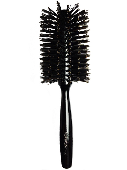 Large Black Bristle Brush